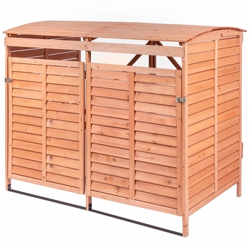 Leisure Zone Outdoor Wooden Storage Shed