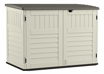 Suncast Outdoor Storage Shed for Garbage Cans