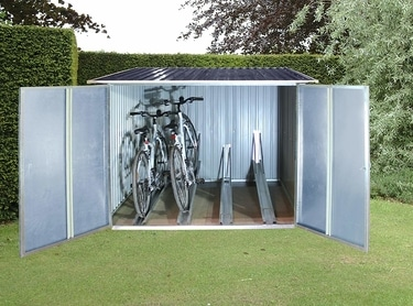 DuraMax Metal Bicycle Shed