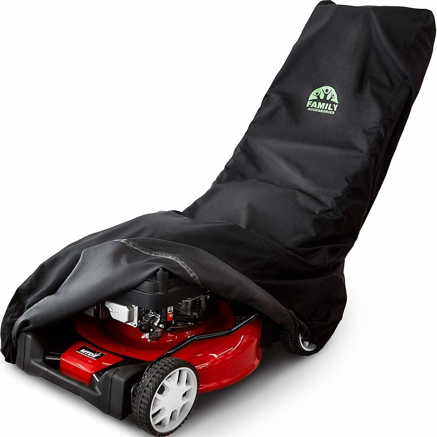 How Can I Store My Lawn Mower Outside