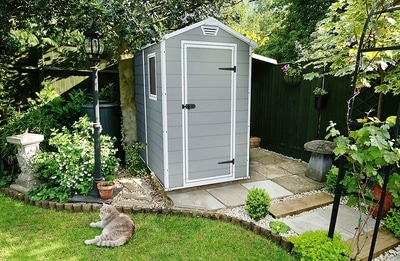 Keter Backyard Garden Storage Shed