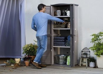 Keter Boston Outdoor Storage Cabinet