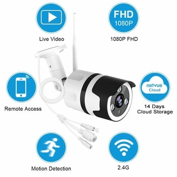 Motion Detection Outdoor Surveillance Camera