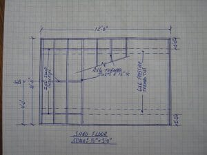 Shed Floor Layout