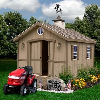 Cambridge 10 X 12 Wood Shed Kit