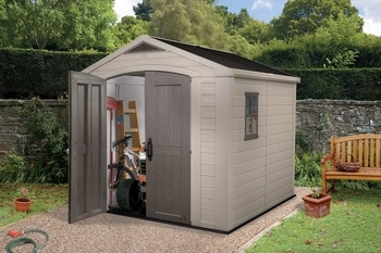 KETER Factor 8x8 Outdoor Storage Shed