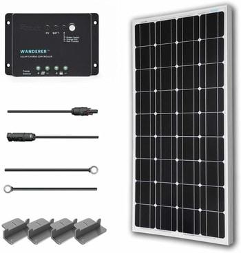 Renogy 100 Watts 12 Volt Solar Starter Kit