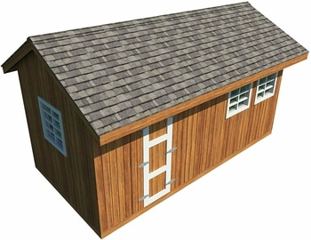 Gable Shed Roof