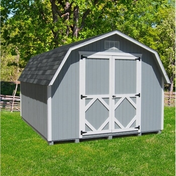 Grambrel Roof on a Shed