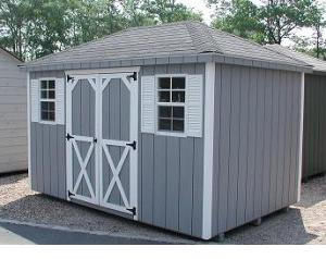 Hip Roof on Storage Shed