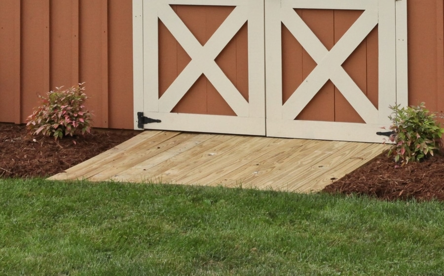 How to Build a Ramp to a Shed